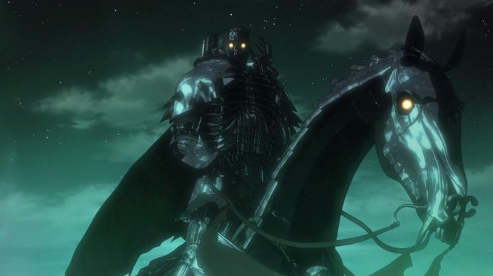 Figurine of Skull Knight in Berserk - Movie Outfits and Products