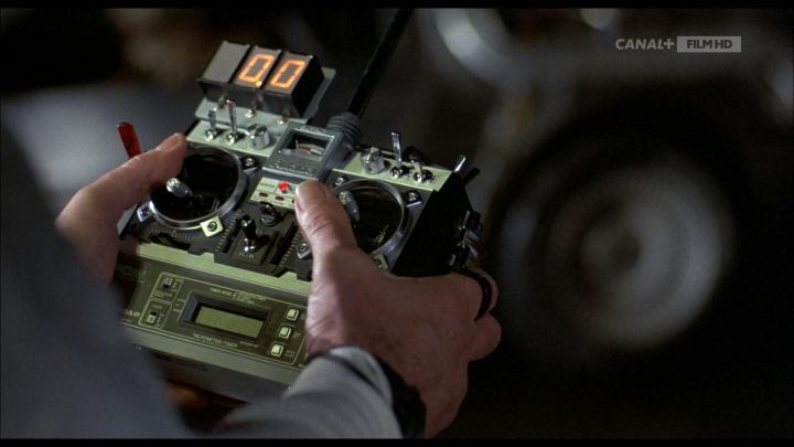 Futaba Remote Control used by Dr. Emmett Brown (Christopher Lloyd) in Back to the Future Movie