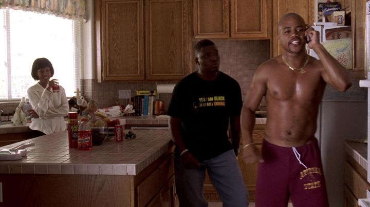 Gatorade Thirst Quencher of Rod Tidwell (Cuba Gooding Jr.) in Jerry Maguire Movie