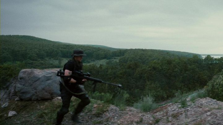 """Genuine vest tactical Billy """"The Kid"""" Timmons (Liam Hemsworth) in the Expendables 2 - Movie Outfits and Products"""