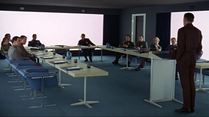 Geoffrey Harcourt's Couches in 2001: A Space Odyssey - Movie Outfits and Products