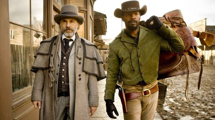 Green Jacket worn by Django Freeman (Jamie Foxx) as seen in Django Unchained - Movie Outfits and Products