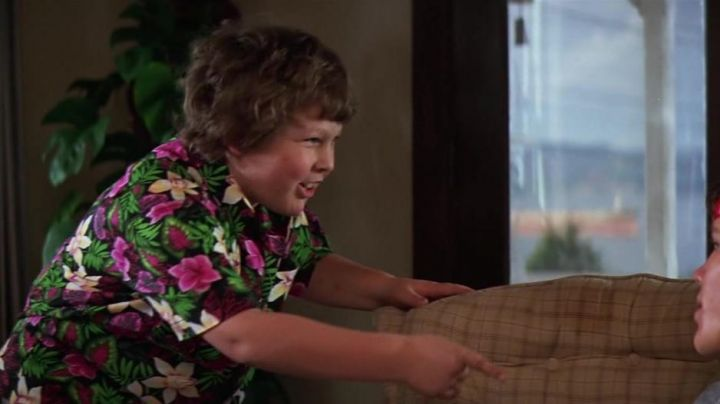 Hawaiian shirt worn by Chunk / Lawrence Cohen (Jeff Cohen) as seen in The Goonies - Movie Outfits and Products