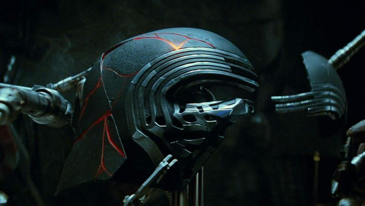 Helmet worn by Kylo Ren (Adam Driver) as seen in Star Wars: The Rise of Skywalker - Movie Outfits and Products