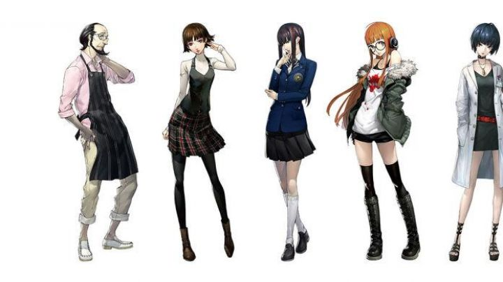 Holding makoto in Persona 5 the Animation - Movie Outfits and Products