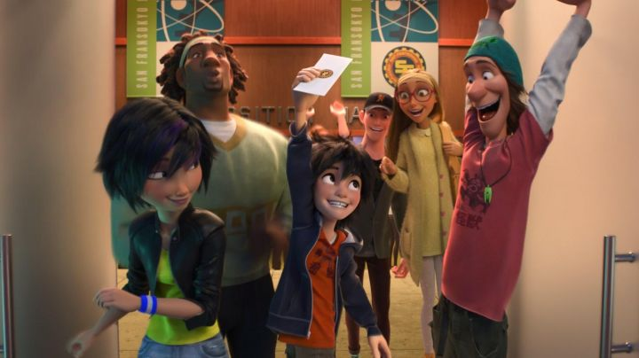 Honey Lemon's long blonde wig in Big Hero 6 - Movie Outfits and Products