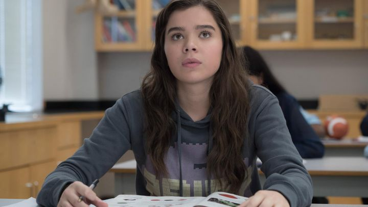 Hoodie worn by Nadine (Hailee Steinfeld) as seen in The Edge of Seventeen movie
