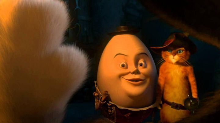 Humpty Dumpty in puss in boots - Movie Outfits and Products