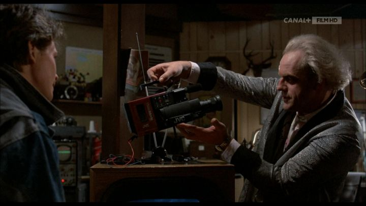 JVC Camcorder used by Dr. Emmett Brown (Christopher Lloyd) in Back to the Future Movie
