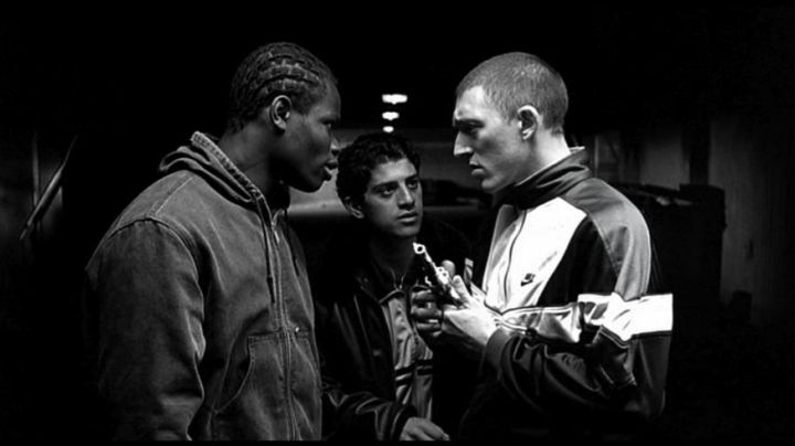 Fashion Trends 2021: Jacket Nike of Vinz (Vincent Cassel) in The Hate