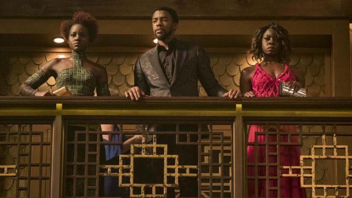 Jacket blazer black You Challa / Black Panther (Chadwick Boseman) in a Black Panther - Movie Outfits and Products