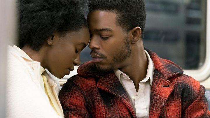 Jacket plaid red vintage Fonny / Alonzo Hunt (Stephan James) in If Beale Street Could Talk Movie