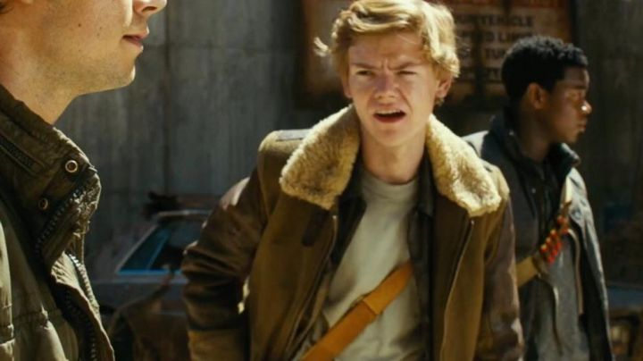 Jacket with Fur Collar worn by Newt (Thomas Brodie-Sangster) as seen in Maze Runner: The Death Cure - Movie Outfits and Products