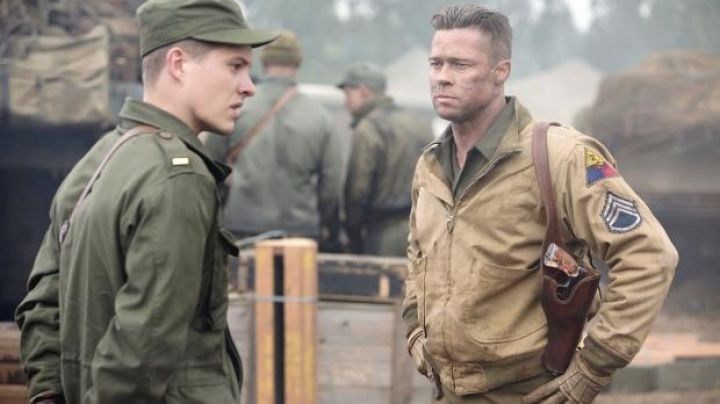 Jacket worn by Wardaddy (Brad Pitt) as seen in Fury - Movie Outfits and Products
