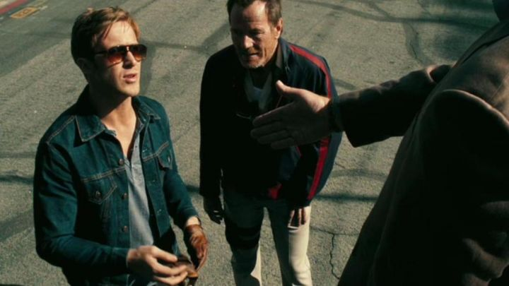 """Jean jacket Levi's model """"Vintage Trucker"""" from Ryan Gosling in Drive - Movie Outfits and Products"""