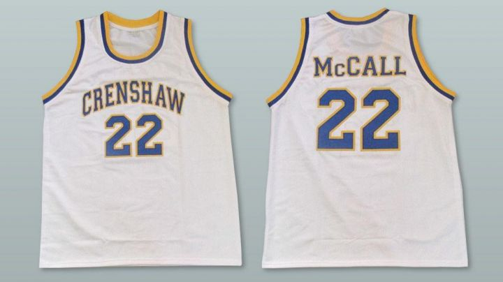 Jersey Crenshaw to Love years Basketball - Movie Outfits and Products