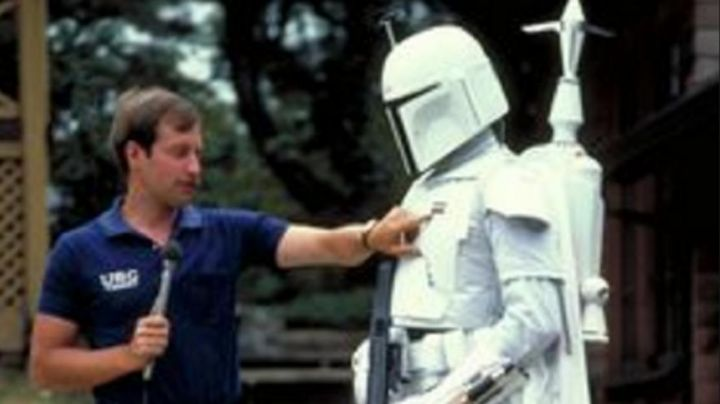 Fashion Trends 2021: Jetpack-white under the armor of Boba Fett for the filming of Star wars