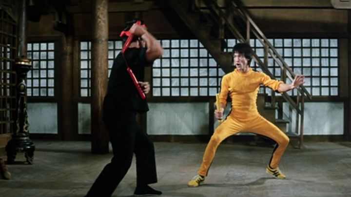 Jogging iconic yellow ninja Billy Lo (Bruce Lee) game of death - Movie Outfits and Products