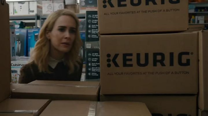 Keurig packaging as seen in Ocean's Eight - Movie Outfits and Products