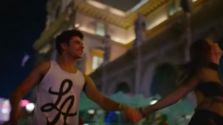 """""""LA"""" Tank Tee worn by Cole (Zac Efron) as seen in We Are Your Friends movie"""