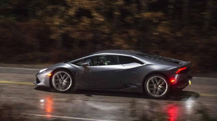 Lamborghini Huracán driven by Dr. Stephen Strange (Benedict Cumberbatch) in Doctor Strange movie