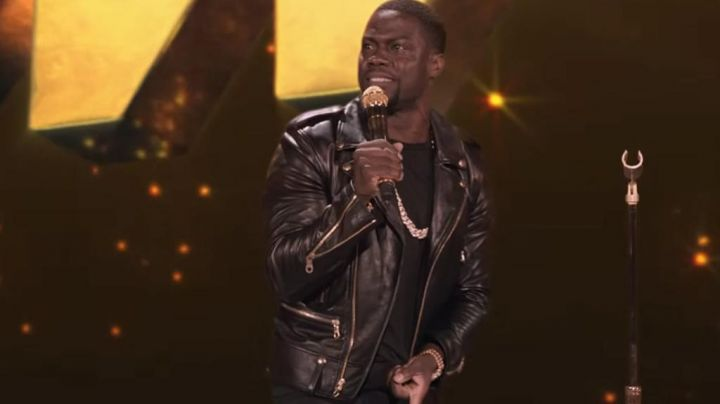 Lather Jacket worn by Kevin Hart as seen in Kevin Hart: What Now? Stand Up Movie