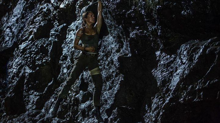 Leather Boots worn by Lara Croft (Alicia Vikander) as seen in Tomb Raider movie