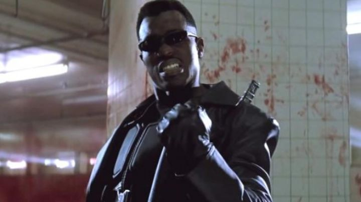 Leather Coat worn by Eric Brooks / Blade (Wesley Snipes) as seen in Blade