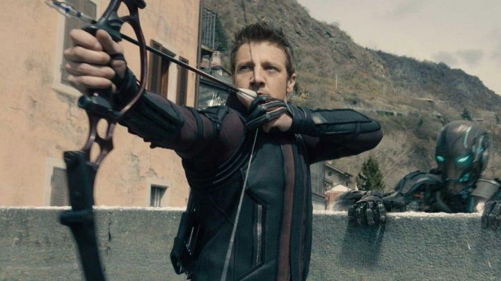 Leather Coat worn by Hawkeye (Jeremy Renner) as seen in Avengers: Age Of Ultron