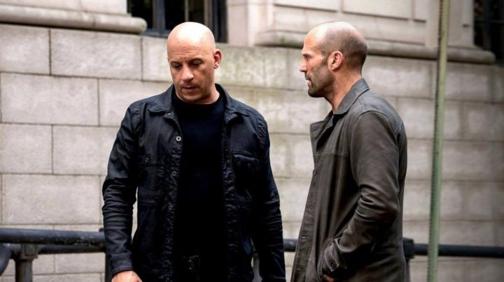 Leather Grey Coat worn by Deckar Shaw (Jason Statham) as seen in The Fate and The Furious - Movie Outfits and Products