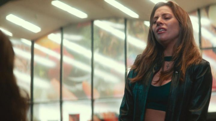 Leather Jacket worn by Ally (Lady Gaga) as seen in A Star is Born Movie