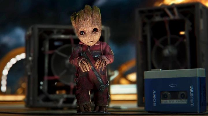 Leather Jacket worn by Baby Groot as seen in Guardians of the Galaxy Vol.2 - Movie Outfits and Products