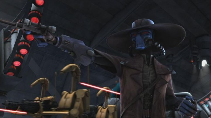 Leather Jacket worn by Cad Bane as seen in Star Wars: Clone Wars vol.1 - Movie Outfits and Products