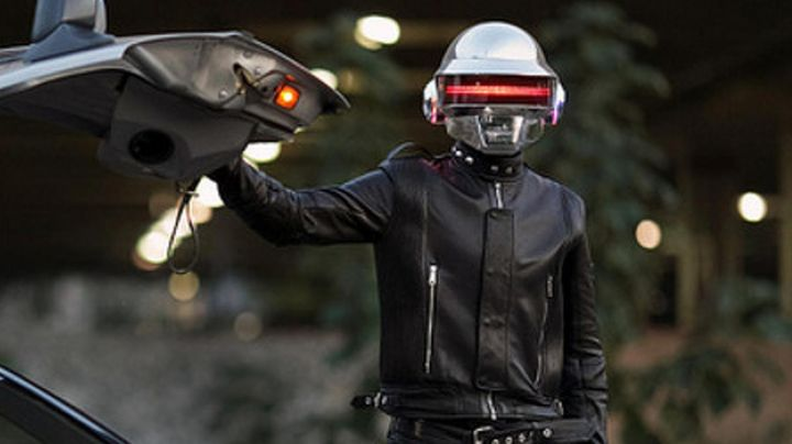 Leather Jacket worn by Daft Punk as seen in Daft Punk Unchained - Movie Outfits and Products
