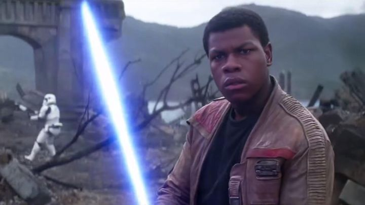 Leather Jacket worn by Finn (John Boyega) as seen in Star Wars VII: The Force Awakens