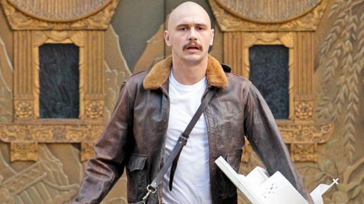 Leather Jacket worn by Jerome Vikar (James Franco) as seen in Zeroville - Movie Outfits and Products