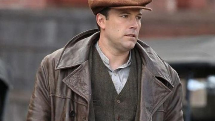 Leather Jacket worn by Joe Coughlin (Ben Affleck) as seen in Live By Night Movie