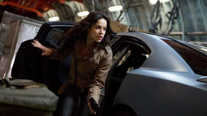 Leather Jacket worn by Letty Ortiz (Michelle Rodriguez) as seen in The Fate And The Furious Movie