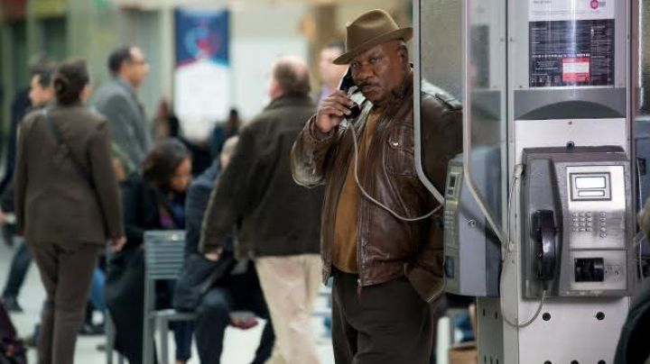 Leather Jacket worn by Luther Stickell (Ving Rhames) as seen in Mission: Impossible - Rogue Nation - Movie Outfits and Products
