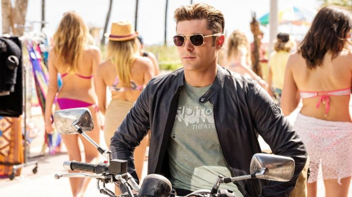 Leather Jacket worn by Matt Brody (Zach Efron) as seen in Baywatch - Movie Outfits and Products