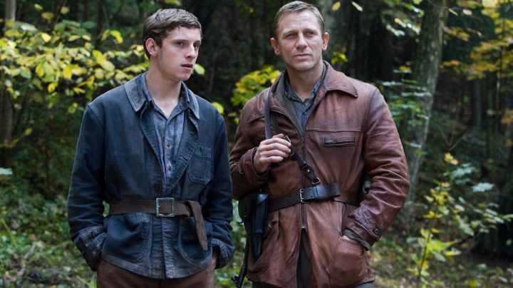 Leather Jacket worn by Tuvia Bielski (Daniel Craig) as seen in Defiance - Movie Outfits and Products