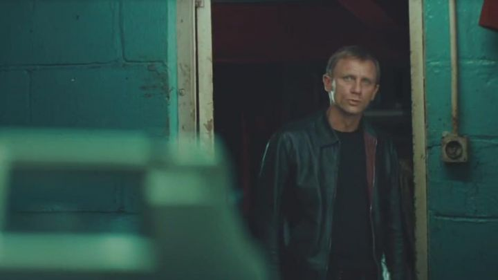 Leather Jacket  worn by XXXX (Daniel Craig) as seen in Layer Cake - Movie Outfits and Products