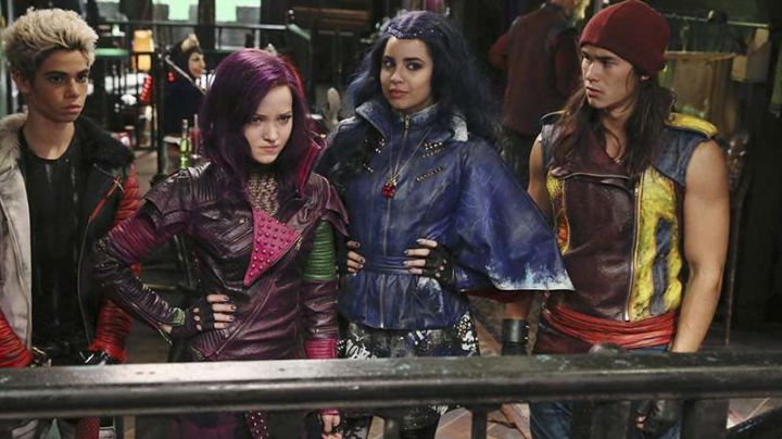 Leather Sleeveless Jacket worn by Jay (Booboo Stewart) as seen in Descendants 2 - Movie Outfits and Products