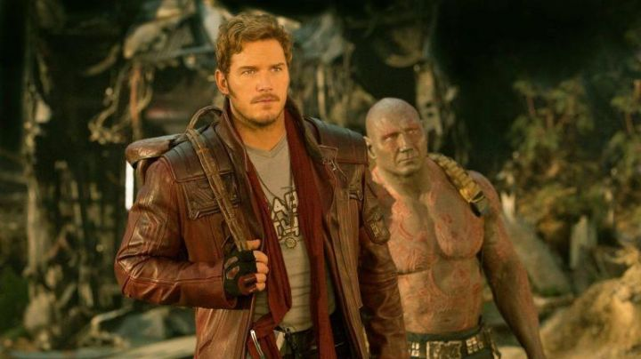 Leather Trench Coat worn by Peter Quill (Chris Pratt) as seen in Guardians of the Galaxy vol.2