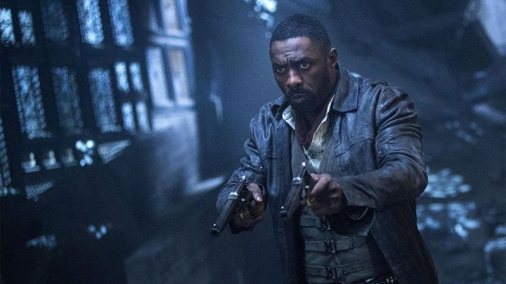 Leather Trench Coat worn by Roland de Gilead (Idris Elba) as seen in The Dark Tower Movie