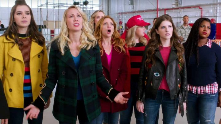 Leather Jacket worn by Beca Mitchell (Anna Kendrick) as seen in Pitch Perfect 3 Movie