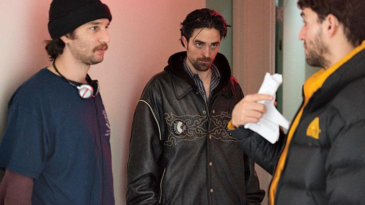 Leather jacket worn by Connie Nikas (Robert Pattinson) as seen in Good Time movie