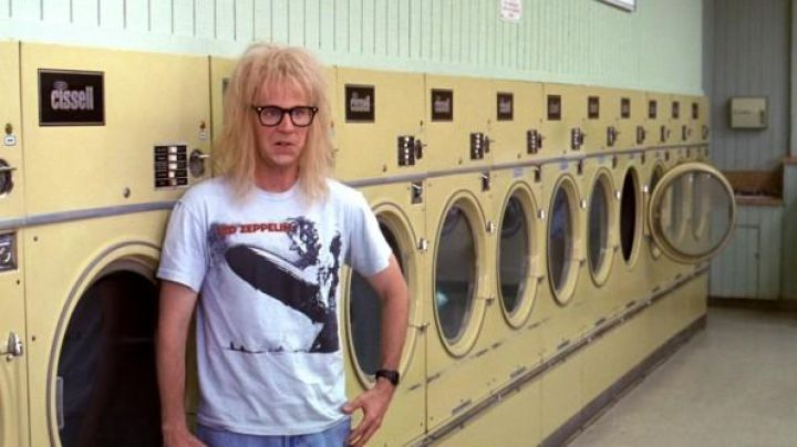 Led Zeppelin First Album T-shirt worn by Garth in Wayne's World 2 - Movie Outfits and Products