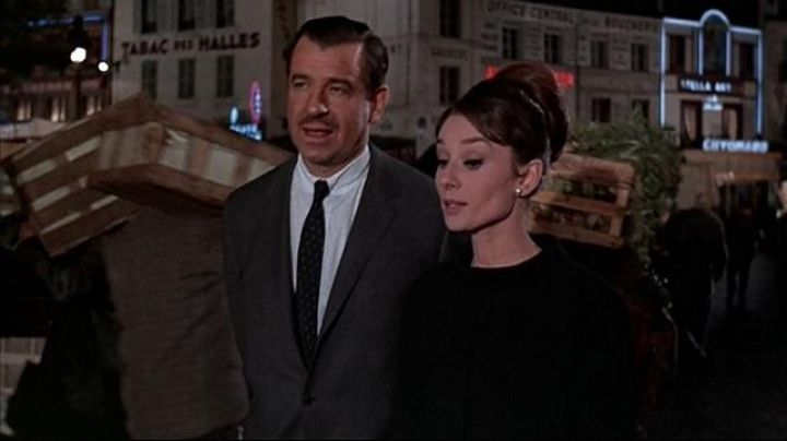Les Halles 2 rue Shells in the film Charade (Audrey Hepburn) - Movie Outfits and Products