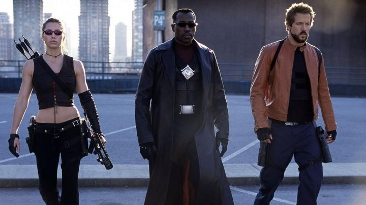Long Coat worn by Blade (Wesley Snipes) as seen in Blade: Trinity - Movie Outfits and Products